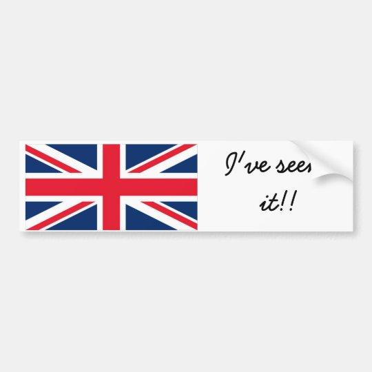 Adesivo Para Carro England bumber sticker