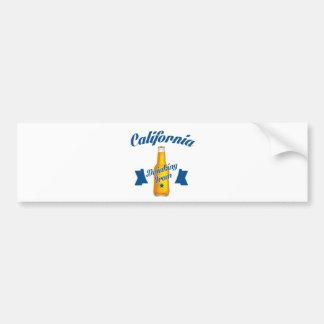 Adesivo Para Carro Equipe do bebendo de Califórnia
