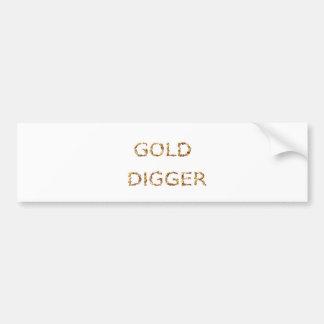 Adesivo Para Carro Escavador de ouro