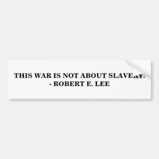 Adesivo Para Carro Esta guerra não é sobre a escravidão