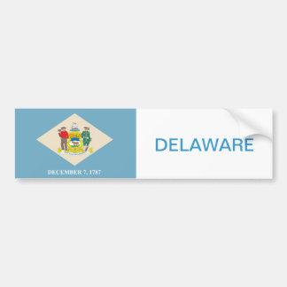 Adesivo Para Carro Estado de bandeira de Delaware