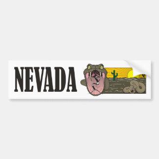 Adesivo Para Carro Estado do cobra de Nevada EUA: Cascavel e deserto