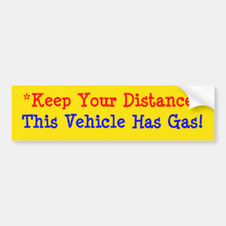 Adesivo Para Carro Este veículo tem o gás!