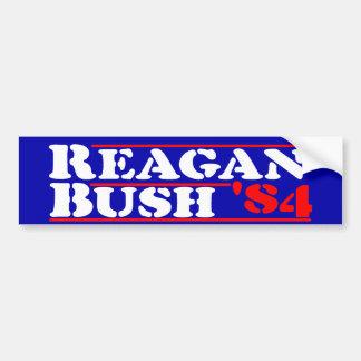 Adesivo Para Carro Estêncil de Reagan Bush '84