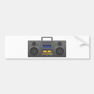 Adesivo Para Carro estilo Boombox de Hip Hop dos anos 80