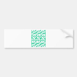 Adesivo Para Carro Ethno do eco dos elementos do design no branco
