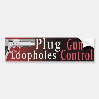Adesivo Para Carro Etiqueta de Bumber das fendas do controlo de armas