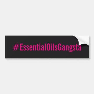 Adesivo Para Carro Etiqueta de Bumber do #essentialoilsgangsta