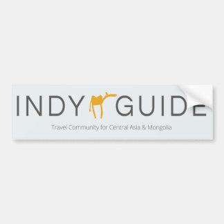 Adesivo Para Carro Etiqueta do guia de Indy (carro/porta)