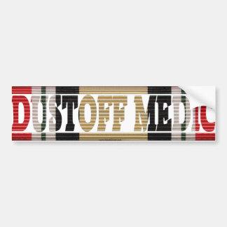 Adesivo Para Carro Etiqueta do ICM do médico do veterano DUSTOFF de