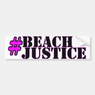 Adesivo Para Carro etiqueta do orgulho do #Beachjustice