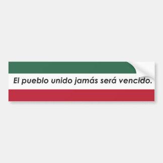 Adesivo Para Carro Etiqueta do povoado indígeno do EL