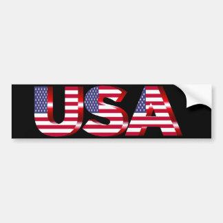 Adesivo Para Carro Etiqueta dos EUA Bumber