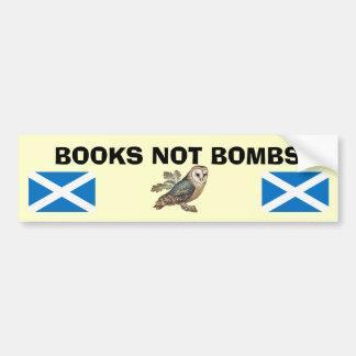Adesivo Para Carro Etiqueta escocesa da coruja da independência das