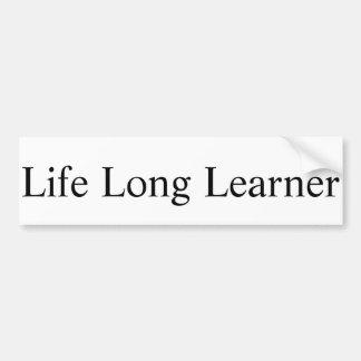 Adesivo Para Carro Etiqueta longa do principiantes da vida