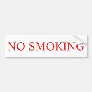 Adesivo Para Carro Etiqueta NÃO FUMADORES