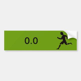 Adesivo Para Carro Etiqueta para os não-corredores