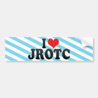 Adesivo Para Carro Eu amo JROTC