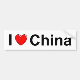 Adesivo Para Carro Eu amo o coração China