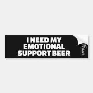 Adesivo Para Carro Eu preciso minha cerveja emocional do apoio