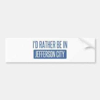 Adesivo Para Carro Eu preferencialmente estaria em jefferson city