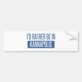 Adesivo Para Carro Eu preferencialmente estaria em Kannapolis