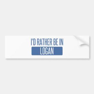Adesivo Para Carro Eu preferencialmente estaria em Logan