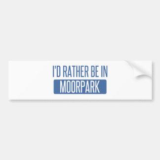 Adesivo Para Carro Eu preferencialmente estaria em Moorpark
