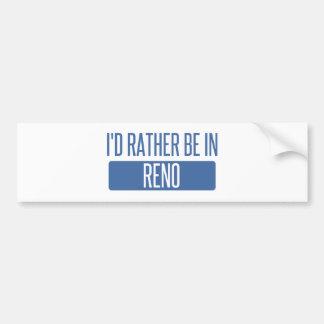 Adesivo Para Carro Eu preferencialmente estaria em Reno
