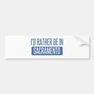 Adesivo Para Carro Eu preferencialmente estaria em Sacramento