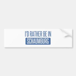 Adesivo Para Carro Eu preferencialmente estaria em Schaumburg