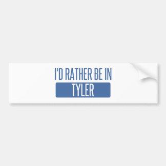 Adesivo Para Carro Eu preferencialmente estaria em Tyler