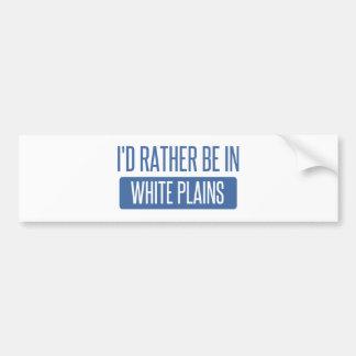Adesivo Para Carro Eu preferencialmente estaria em White Plains