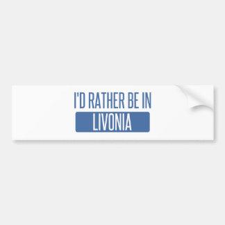Adesivo Para Carro Eu preferencialmente estaria no Livonia