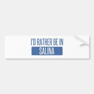 Adesivo Para Carro Eu preferencialmente estaria no Salina
