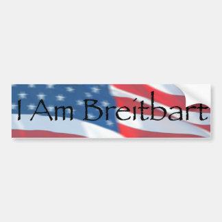 Adesivo Para Carro Eu sou Breitbart