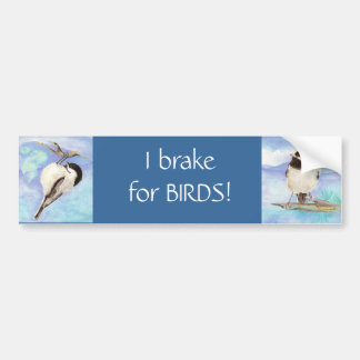 Adesivo Para Carro Eu travo para pássaros - Birding