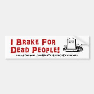 Adesivo Para Carro Eu travo para pessoas inoperantes!