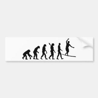 Adesivo Para Carro Evolução Slackline