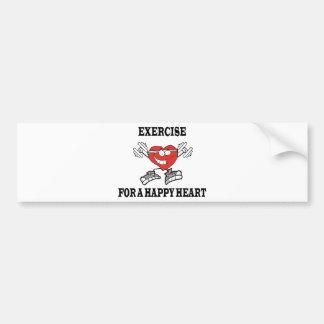 Adesivo Para Carro exercício heart2