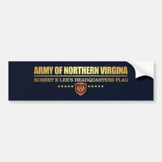 Adesivo Para Carro Exército de Virgínia do norte (F10)