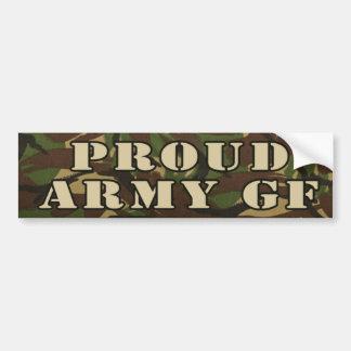 Adesivo Para Carro Exército GF BumperSticker