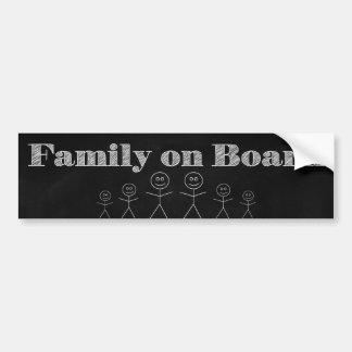 Adesivo Para Carro Família a bordo