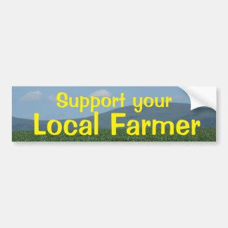 Adesivo Para Carro Fazendeiro do Local do apoio