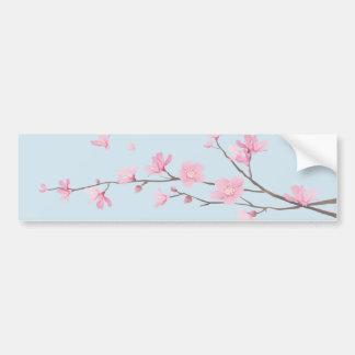 Adesivo Para Carro Flor de cerejeira - Transparente-Fundo