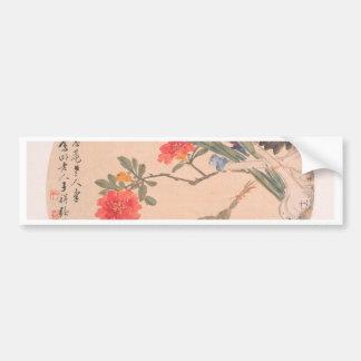 Adesivo Para Carro Flor e sapo - Zhang Xiong (chinês, 1803-1886)