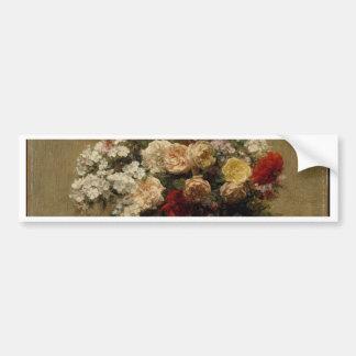 Adesivo Para Carro Flores do verão - realismo