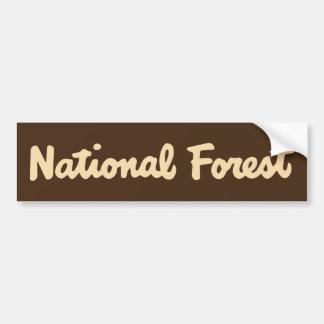 Adesivo Para Carro Floresta nacional