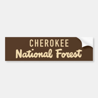 Adesivo Para Carro Floresta nacional Cherokee