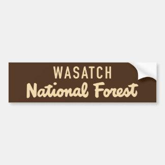 Adesivo Para Carro Floresta nacional de Wasatch